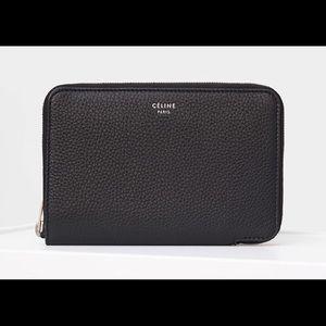 Celine Medium Zipped Around Wallet